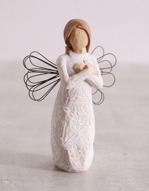 christmas: Angel of Remembrance Willow Tree Figurine!