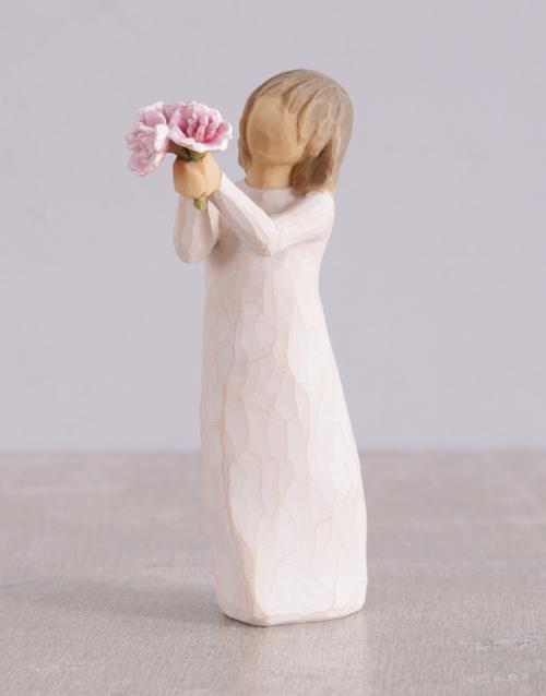 christmas: Thank You Willow Tree Figurine!
