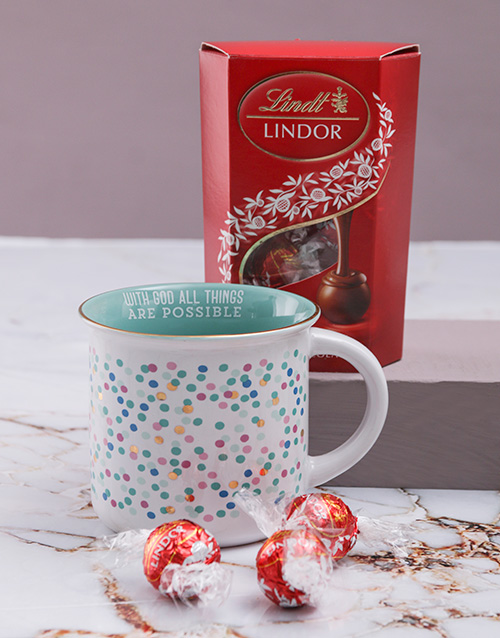 gifts: All Things Are Possible Mug Set!