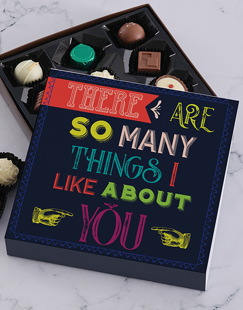 chocolate: So Many Things Chocolate Tray!