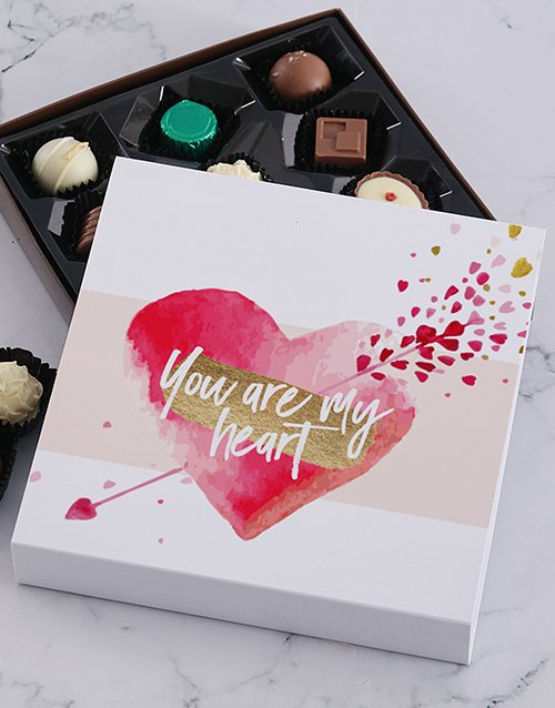 valentines-day: You Are My Heart Chocolate Tray!