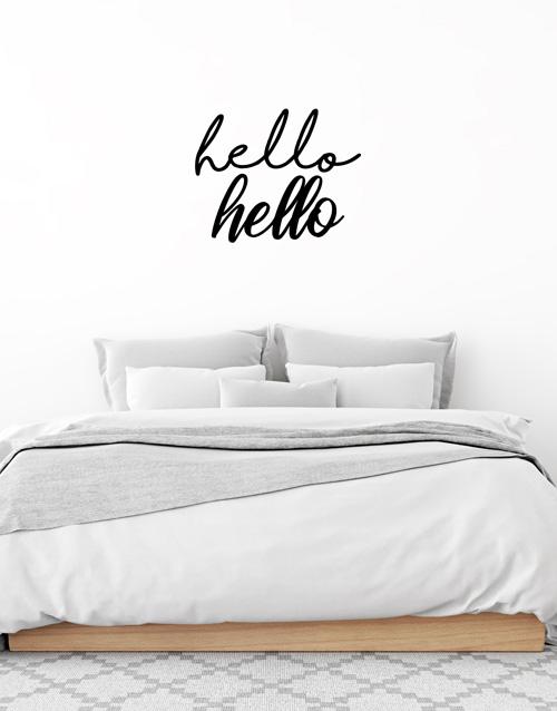 baby: Hello Hello Wall Vinyl!
