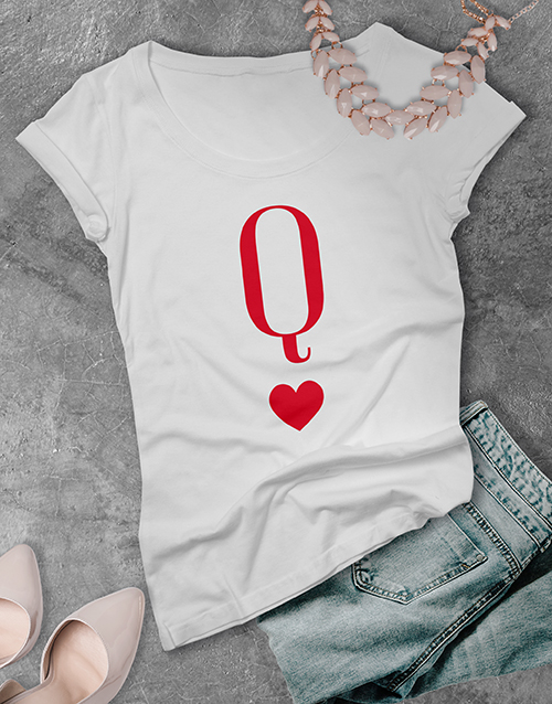 valentines-day: Queen of Hearts T Shirt!