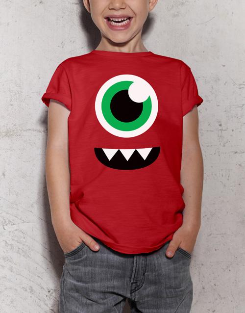 halloween: Monster Kids T Shirt!
