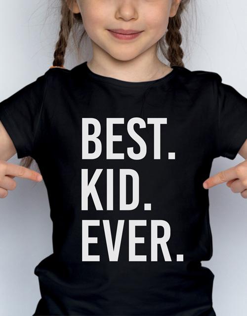 christmas: Best Ever Kids T Shirt!