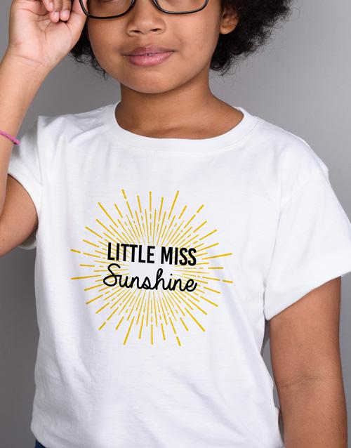 clothing: Little Miss Sunshine Kids T Shirt!