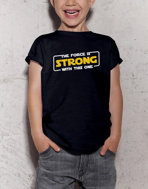 gifts: The Force Kids T Shirt!