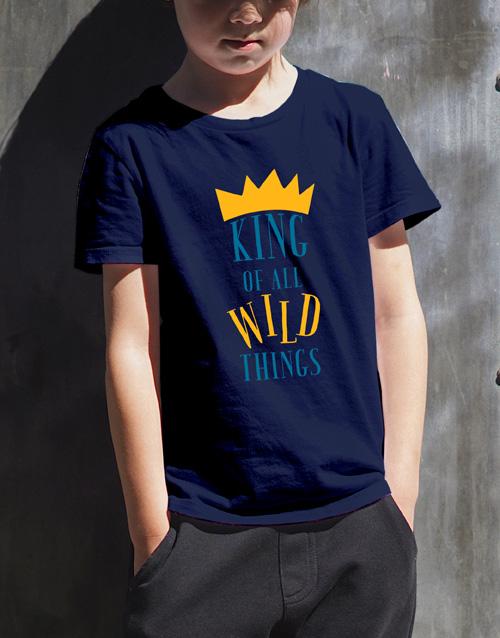 clothing: Wild Things Kids T Shirt!