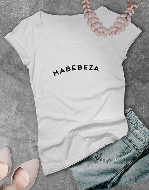 anniversary: Mabebeza Ladies T Shirt !