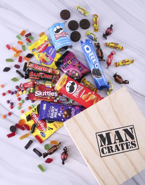 birthday: Sweet Sensations Man Crate!