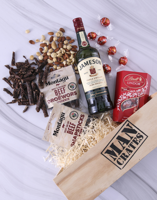 anniversary: Lindt Select Man Crate!
