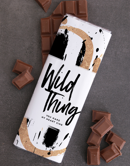 chocolate-and-nougat: Wild Thing 300g Chocolate Slab!