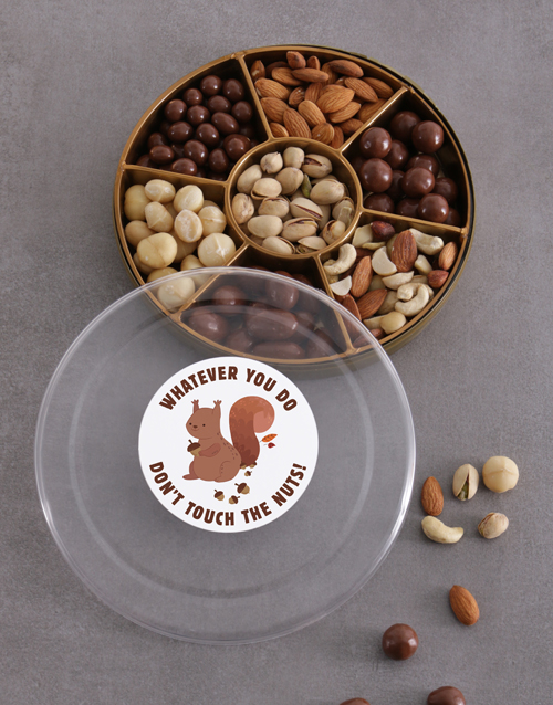 gourmet: Don't Touch The Nuts Tray!