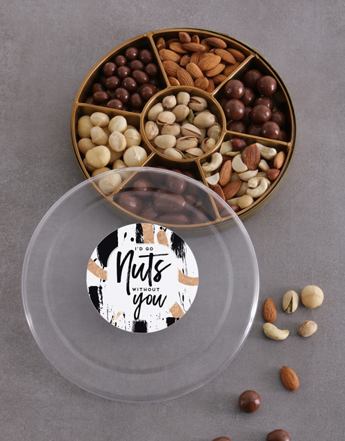 gourmet: Nuts Without You Tray!