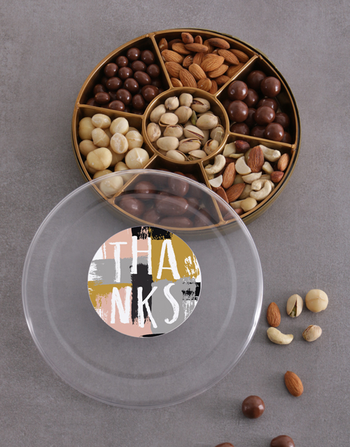 gourmet: Grateful Nuts Tray!