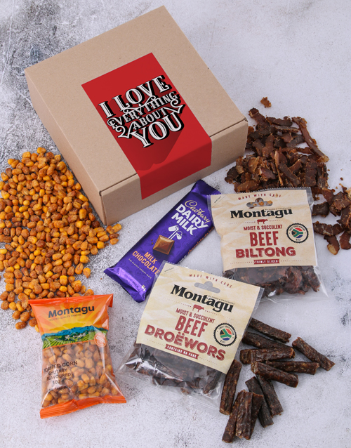 gourmet: I Love Everything About You Biltong Box!
