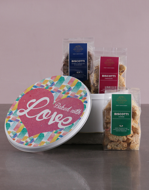 gourmet: Baked With Love Gourmet Cookie Tin!