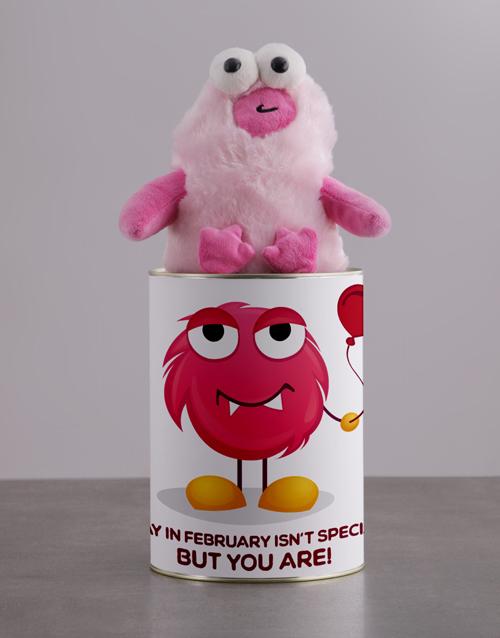 teddy-bears: Love Monster Teddy Hamper Tin!