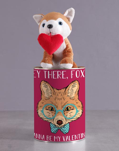 chocolate: Hey Foxy Tin Hamper!