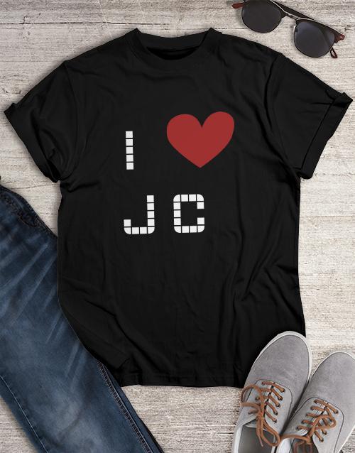 clothing: I Heart JC Shirt!