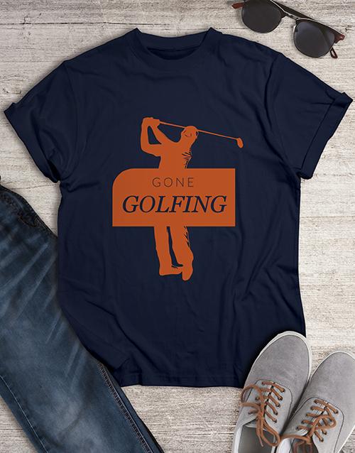 clothing: Gone Golfing Shirt!