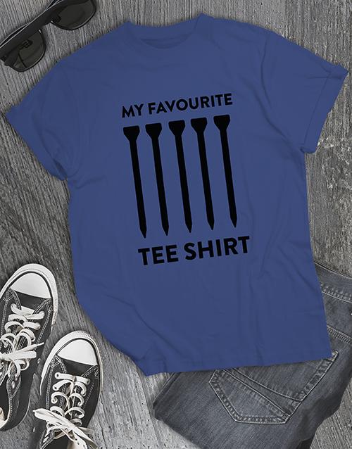 clothing: Golfer Tee Shirt!