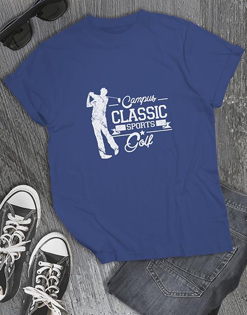 clothing: Campus Classic Golf Shirt!
