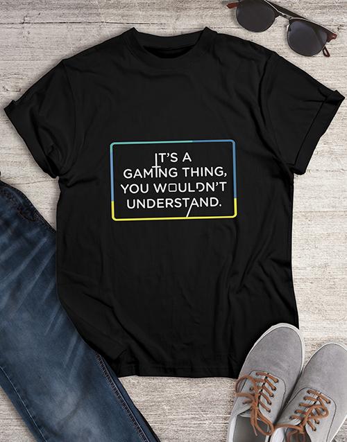 clothing: Gaming Things Tshirt!