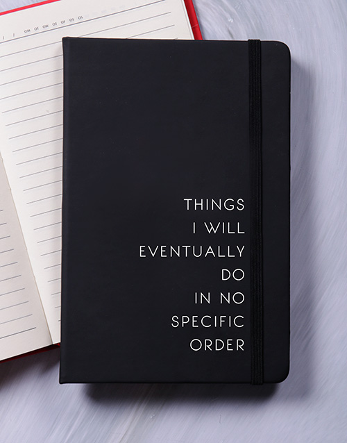 notebooks: No Specific Order A5 Notebook!