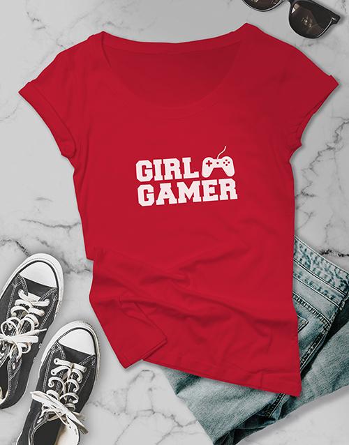 clothing: Girl Gamer Ladies Tshirt!