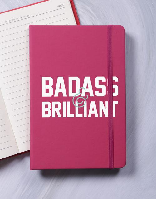notebooks: Badass and Brilliant A5 Notebook!