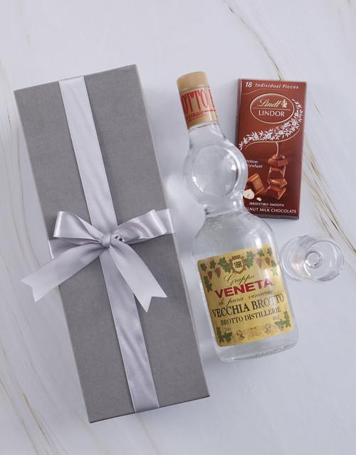 fine-alcohol: Silver Box of Grappa Veneta!