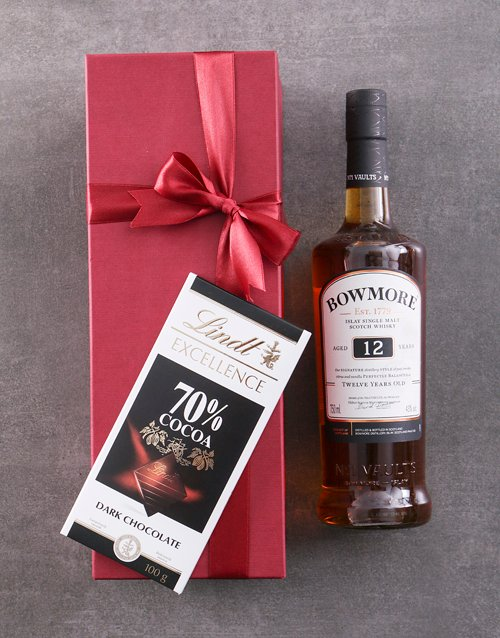congratulations: Red Box of Bowmore 10YR!