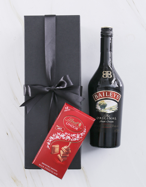 thank-you: Black Box of Baileys!