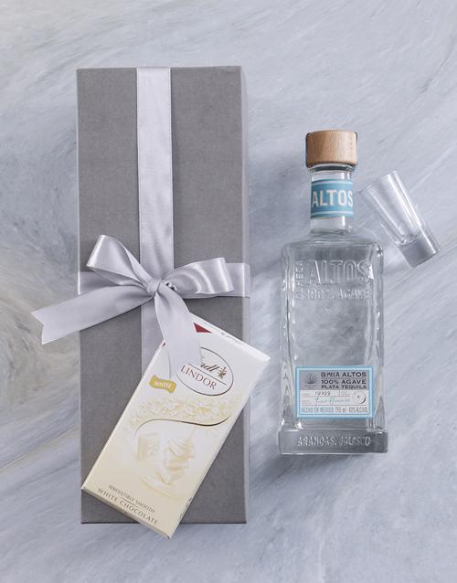 fine-alcohol: Olmeca Altos Blanco Giftbox!