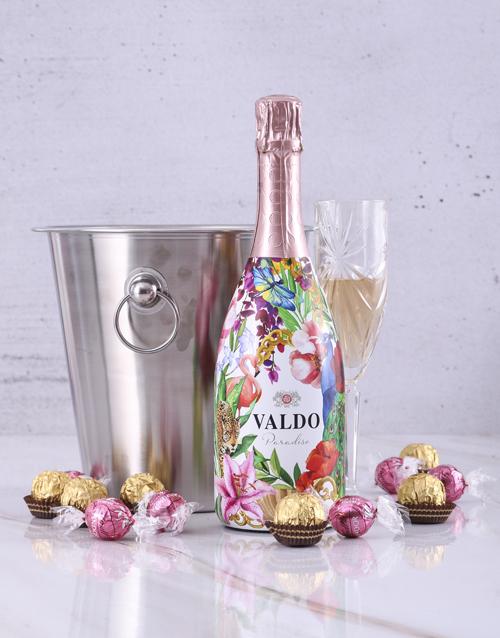 christmas: Valdo Floral Prosecco Ice Bucket!