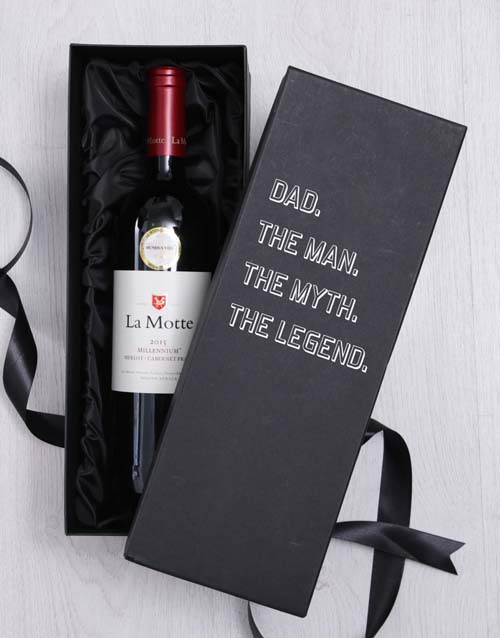 fathers-day: Dad The Legend In Giftbox!