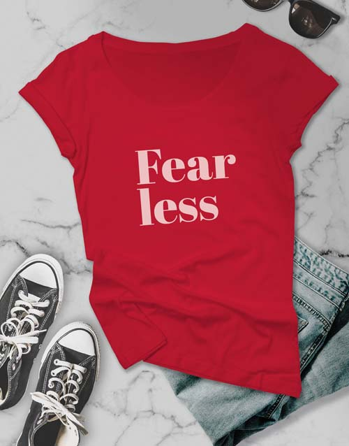 clothing: Fearless Retro Ladies T Shirt!