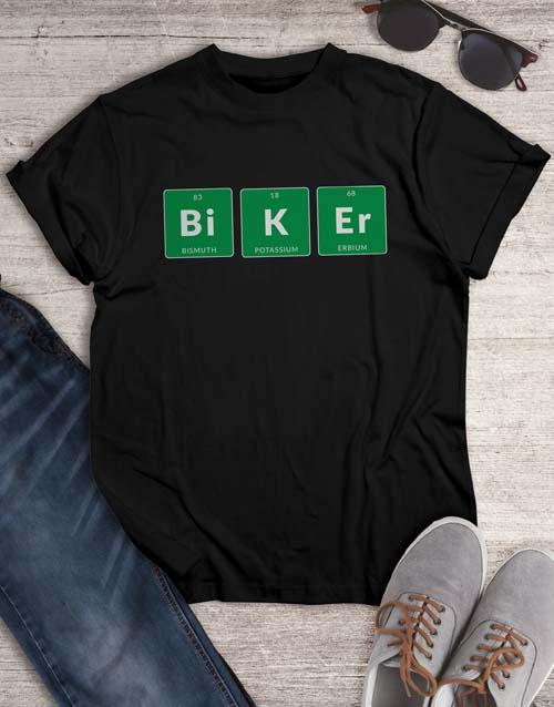 clothing: Periodic Biker T Shirt!