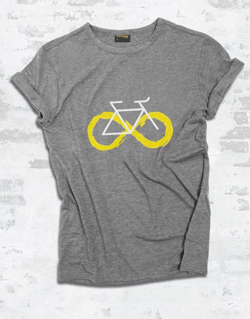 clothing: Infinity Cycling Ladies T Shirt!