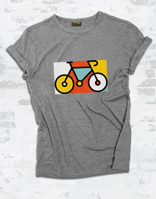 clothing: Bicycle Pop Art Ladies T Shirt!