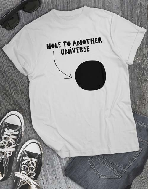 clothing: Hole To Another Universe T Shirt!