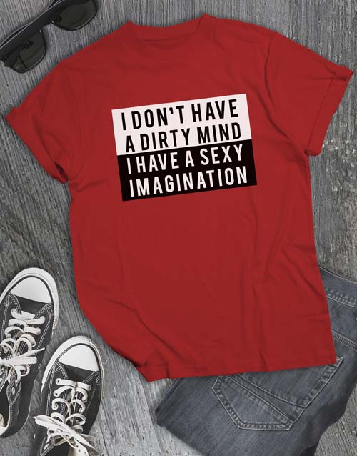 clothing: Sexy Imagination T Shirt!