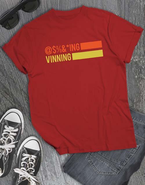 personalised: Vinnig T Shirt!