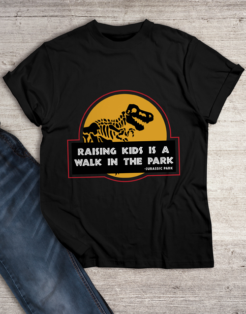 fathers-day: Parenthood is like a Park T Shirt!