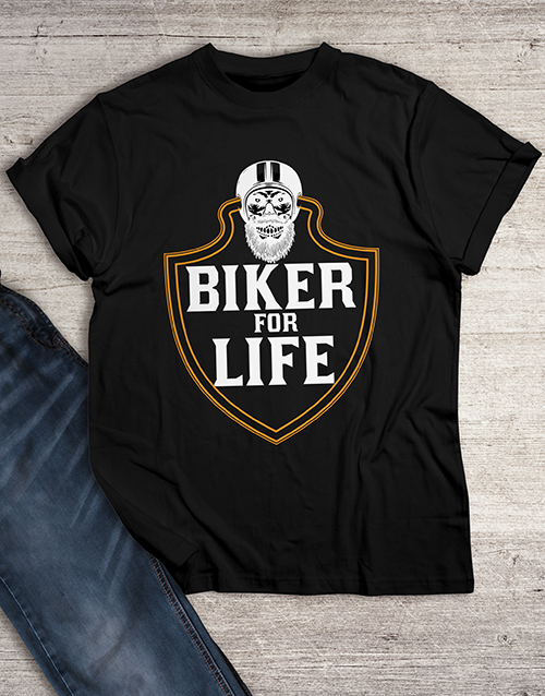 clothing: Biker for Life T Shirt!