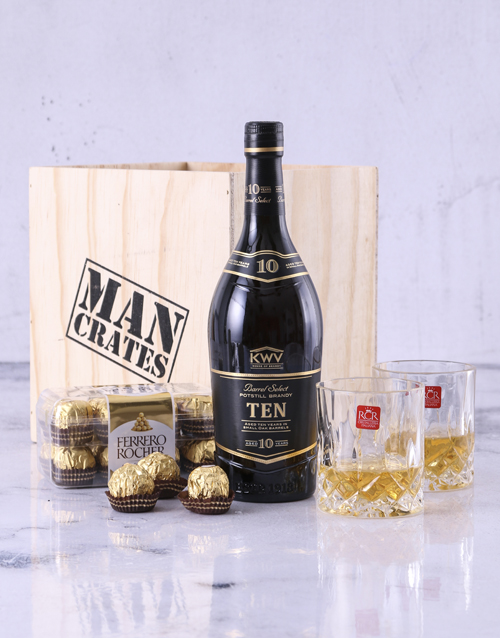 christmas: KWV 10 Year Man Crate!