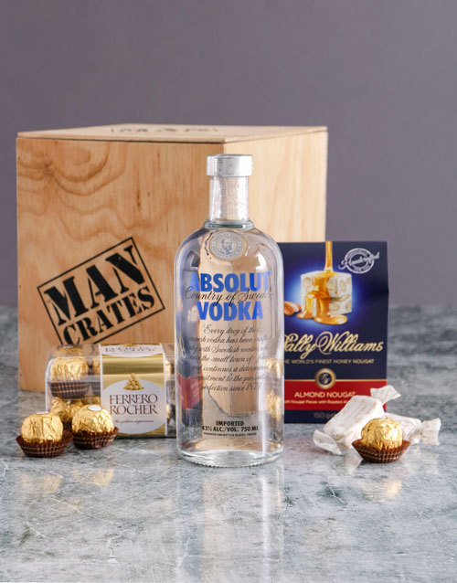 thank-you: Absolut Man Crate!