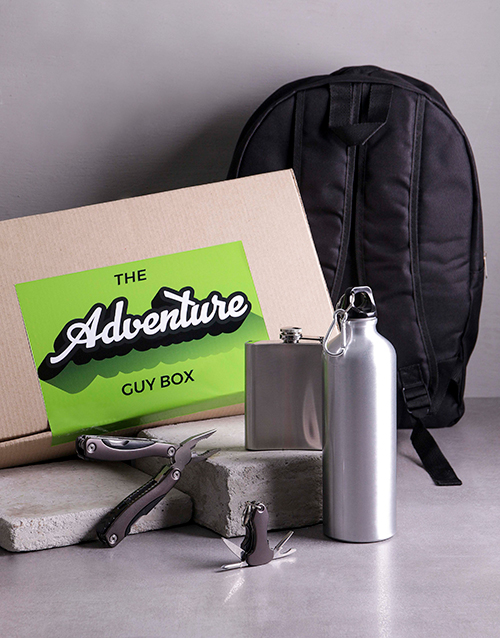 gifts: The Adventure Guy Box!