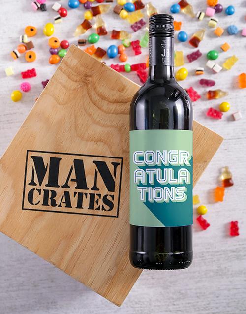 congratulations: Congratulations Wine Man Crate!